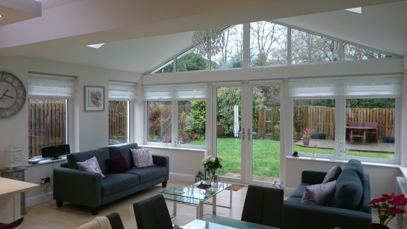 Sunroom extension design